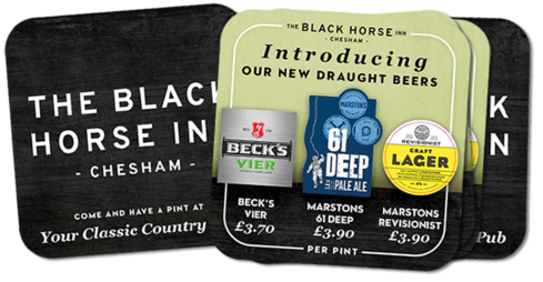 Introducing Our New Beers at The Black Horse Inn, Chesham.