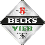 Draught - On Tap at The Black Horse Inn, Chesham - Beck's Vier