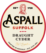 Draught - On Tap at The Black Horse Inn, Chesham - Aspall Cyder