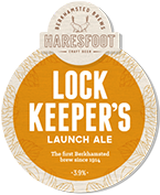 Draught - On Tap at The Black Horse Inn, Chesham - Lock Keepers Launch Ale (Haresfoot Brewery)