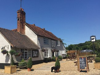 The Black Horse Inn, Your Classic Country pub in Chesham. Front of the pub.