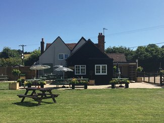 The Black Horse Inn, Your Classic Country pub in Chesham. Back of the pub.