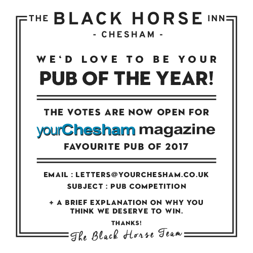 Your Chesham Magazine Favourite Pub in Chesham 2017