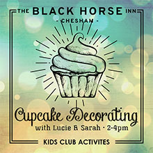 Half Term activities in Chesham. Cupcake making with Lucie and Sarah