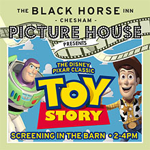 Half Term activities in Chesham. The Black Horse Picture House presents Toy Story!