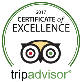 Tripadvisor Certificare of Excellence 2017 Winner