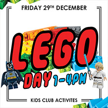 Kids activities and December Events in Chesham. Lego Day with the Chesham Brick House