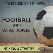 Half Term activities in Chesham - Football with Alex Jones.