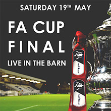 May Events in Chesham - The FA Cup Final Broadcast at The Black Horse Inn